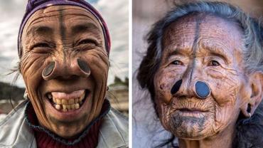 Apatani to stary azjatycki lud, który wciąż pielęgnuje pradawne tradycje, w efekcie czego ich kobiety wyglądają przerażająco