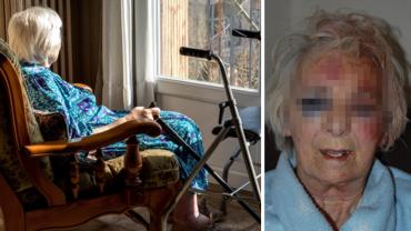"""Gdy starsza kobieta wróciła ze spaceru z psem, pod domem zastała """"komitet powitalny"""". Za co tak okrutnie ją ukarano?"""