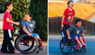 Nie ma nic cenniejszego od prawdziwego przyjaciela! Wiedzą to nawet ośmiolatki, a na pewno ten chłopiec, który postanowił spełnić marzenie niepełnosprawnego kolegi!