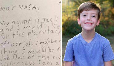 9-latek zapragnął zostać strażnikiem galaktyki, wysłał więc list motywacyjny do NASA! Zobacz odpowiedź agencji kosmicznej