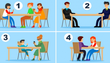 Przy którym z tych stołów miałbyś najmniejszą ochotę usiąść? Odpowiedz na to pytanie i dowiedz się, co Cię w życiu najbardziej stresuje