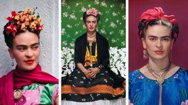 Na czarno-białych zdjęciach nie widać tego, jak barwne było życie Fridy Kahlo. Ducha ikony w pełni oddają kolorowe fotografie, których jest raptem kilka