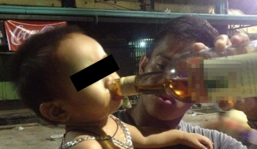 Miał kłopot z ukołysaniem syna, więc postanowił dać mu do picia mocne brandy! Zgadnijcie, jak tłumaczył się z tego policji i mediom