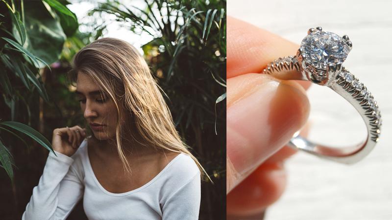 Kobieta pożaliła się, że dostała zbyt tani pierścionek zaręczynowy. Po chwili zalała ją fala zdjęć... tanich pierścionków, z których właścicielki są dumne