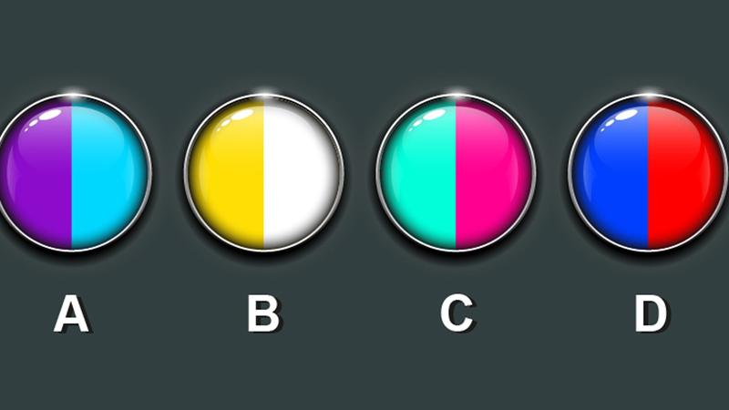 Wybierz zestawienie kolorów i dowiedz się czegoś ważnego o sobie! Nie uwierzysz, jak skuteczny jest ten test!