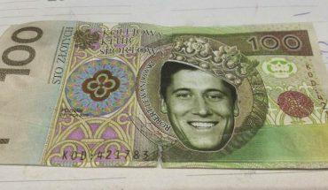 Zapłacił w sklepie banknotem z wizerunkiem Lewandowskiego. Kasjer się nie zorientował