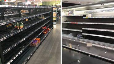 Pewien supermarket usunął z półek wszystkie importowane towary. Zamiast ulubionych produktów klienci otrzymali ważny komunikat…