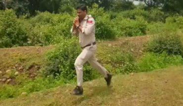 Policjant biegł jak oszalały przez ponad kilometr! Gdy pokazał, co trzyma w dłoniach, wszyscy wstrzymali oddech