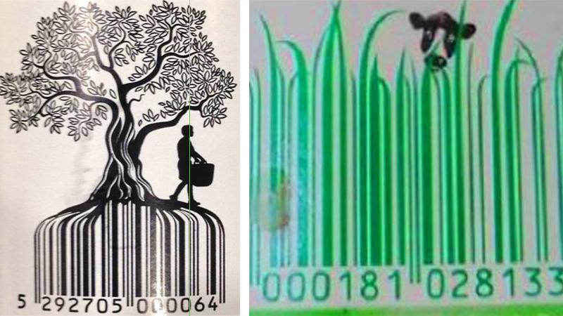 Najbardziej oryginalne kody kreskowe. Wyobraźnia projektantów nie zna granic!