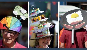 Co łączy Trumpa, jajecznicę i tort urodzinowy? To wszystko mieli na głowach uczestnicy festiwalu w Birdport, największego kapeluszowego święta świata!
