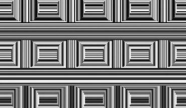 """Na tej grafice zwanej """"Coffer Illusion"""" widnieje 16 okręgów. Trzeba dobrze wytężyć wzrok, żeby je odnaleźć"""