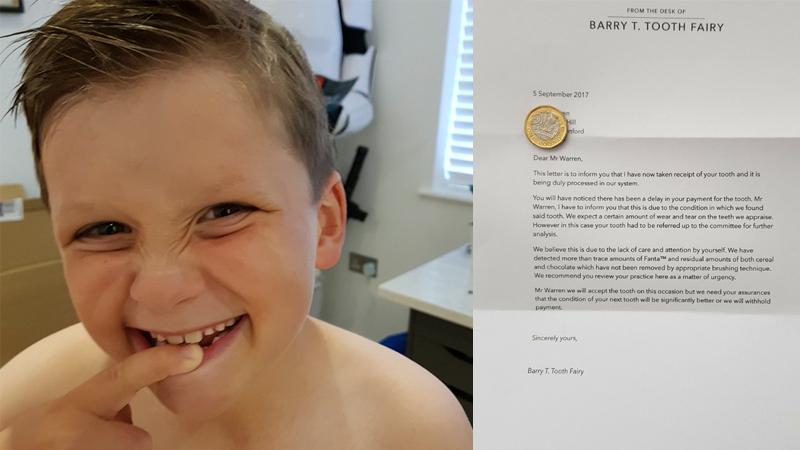 Chłopiec nie chciał myć zębów, więc rodzice załatwili to w sprytny sposób