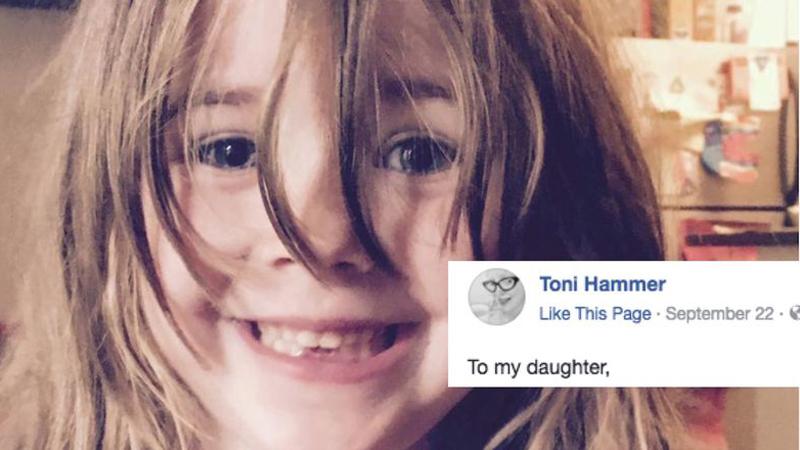 Toni nie zamierza uczyć córki przepraszania. Jej list do dziecka podzielił internautów