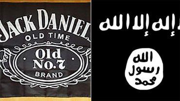 Pomylili flagę ISIS z logiem znanej whisky. To nie mogło się dobrze skończyć!