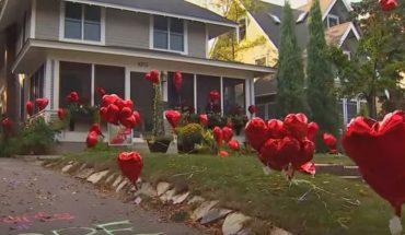 """W ogrodzie tej kobiety """"wyrosło"""" 101 balonów. Umieścili je tam sąsiedzi, by nauczyć ją jednej, ważnej lekcji…"""