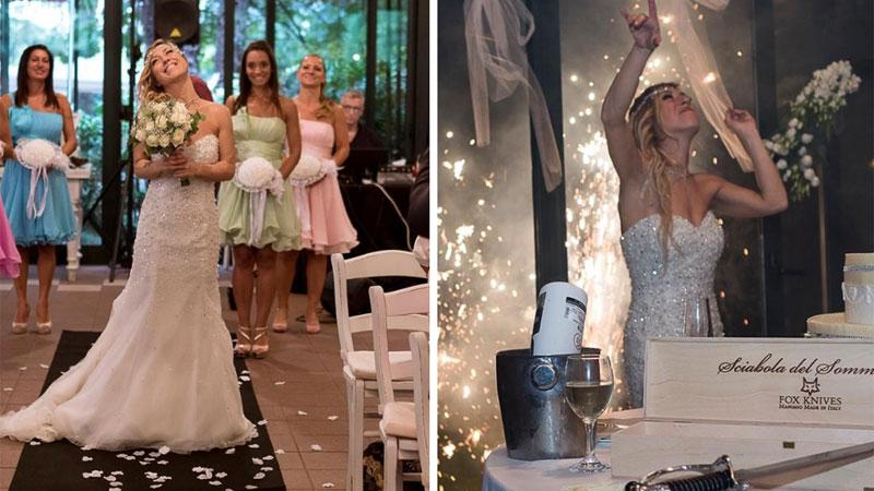 Pewna Włoszka nie mogła znaleźć odpowiedniego kandydata na męża, więc... poślubiła samą siebie!