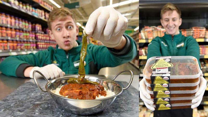 """""""Jesz na własną odpowiedzialność"""" - takie ostrzeżenie widnieje na curry, które niedawno pojawiło się w supermarketach. Jego smak pochodzi z samego piekła!"""