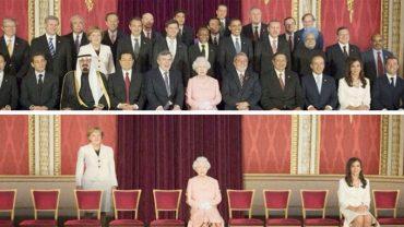 Z tych zdjęć za pomocą Photoshopa usunięto wszystkich mężczyzn. Efekt końcowy daje mocno do myślenia