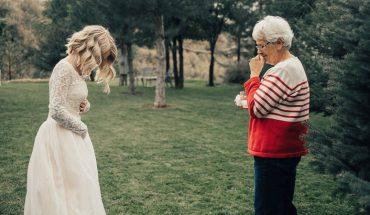 Wnuczka włożyła na ślub suknię sprzed 55 lat, reakcja babci – wcześniejszej właścicielki – mówi wszystko