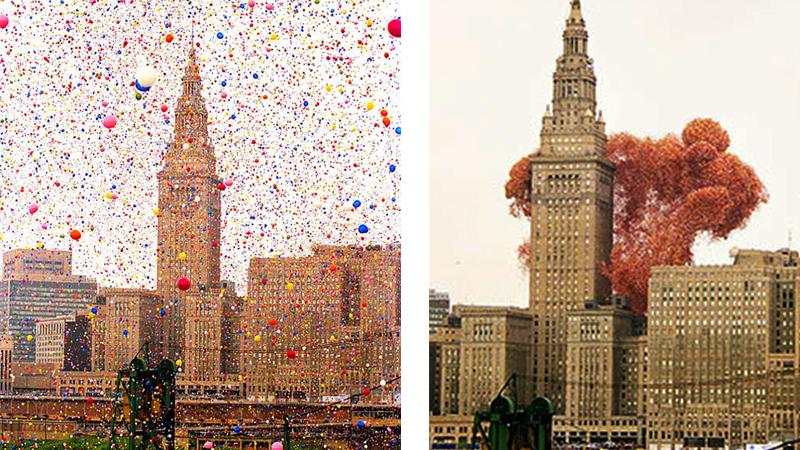 Chcieli pobić rekord i wypuścili w niebo tysiące balonów. Nie spodziewali się, że to wydarzenie przyczyni się do tylu tragedii!