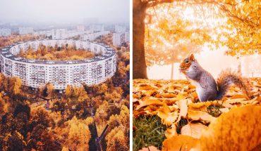 Jesienne krajobrazy w obiektywie Kristiny Makeevy. Te fotografie to najlepszy dowód na to, że przyroda jest nieskończenie piękna