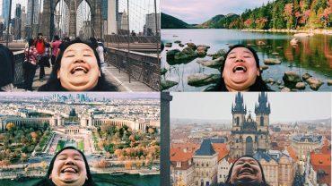 Zakpiła z perfekcyjnych zdjęć na portalach społecznych i znalazła własny sposób na udokumentowanie wycieczki dookoła świata