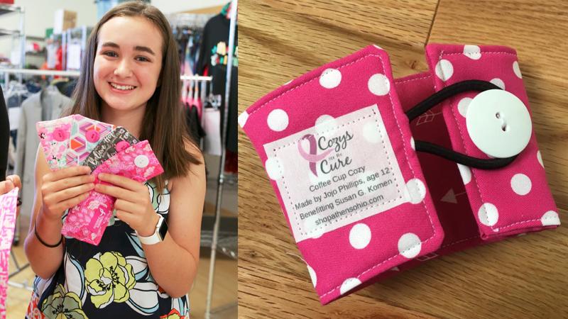 """""""Nigdy nie jesteś za młody, by pomagać"""" - twierdzi 13-latka, która ratuje życie kobiet i dzięki własnej firmie, funduje im mammografię"""