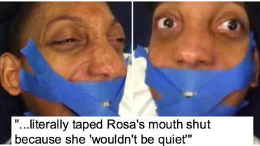 Rosa nie chciała się uciszyć, więc nauczyciel zakneblował jej usta taśmą. Jego zachowanie jest chore, tym bardziej że dziewczyna jest niepełnosprawna