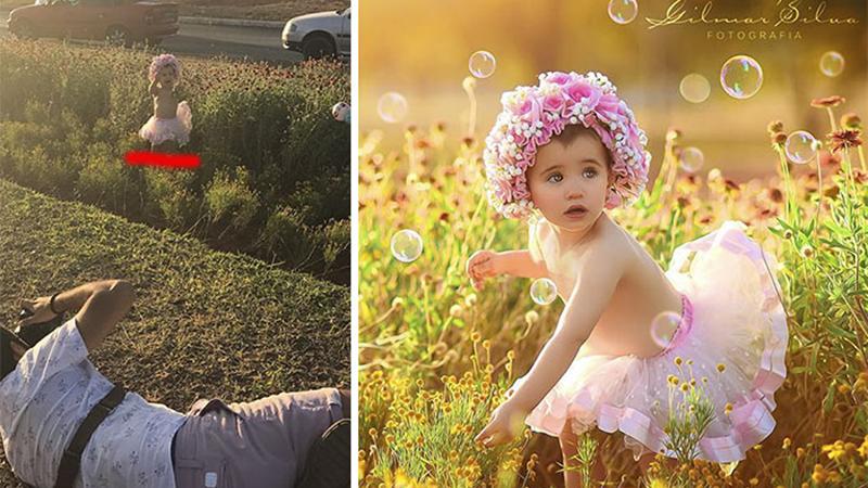 Te zdjęcia wyglądają, jakby były wykonane w profesjonalnym studiu fotograficznym. W rzeczywistości jest zupełnie inaczej!