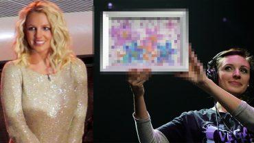 Upadła gwiazda POP Britney Spears zaczęła malować! Gdy zobaczysz, jaki obraz sprzedała za 10 000 $, samemu złapiesz za pędzel!