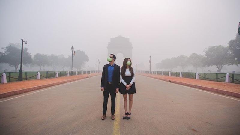 """""""Mamy ostatnią szansę, żeby coś zmienić"""" - ostrzega 15 tys. naukowców. Do jakiej ruiny doprowadziliśmy Ziemię, pokazują obrazki z Delhi"""