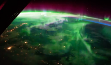 Kosmonauta nakręcił filmik z zorzą polarną w roli głównej. Zachwycony stwierdził, że prawdziwy Kosmos mamy na Ziemi
