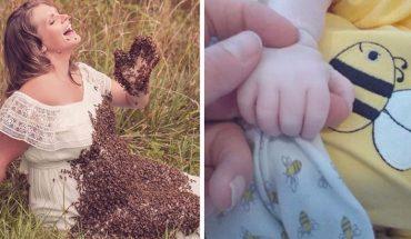 Pamiętacie Emily i jej kontrowersyjną sesję ciążową z pszczołami? Teraz kobieta przeżywa ogromny dramat, bo jej dziecko urodziło się martwe!