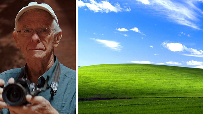 Jego fotografię widziały miliony ludzi. Autor słynnej tapety dla Windows zrobił zdjęcia na smartfony. Zdobędą podobną popularność?