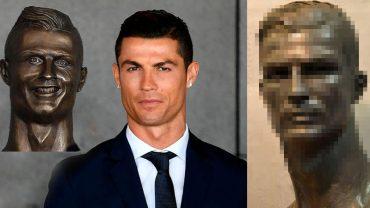 Wymieniono słynne popiersie Ronaldo. Teraz ludzie uważają, że jest zbyt przystojny!