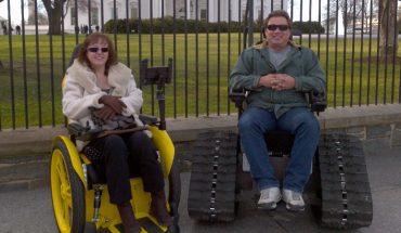 Wózek terenowy to zbawienie dla niepełnosprawnych. Brad wymyślił go dla żony, by nie musiała rezygnować z ukochanych wypraw w nieznane