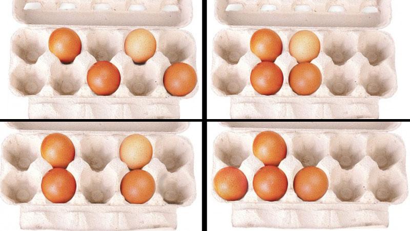 Jak ułożyłbyś te jajka? Ten test psychogeometryczny, powie bardzo wiele o twoich mocnych stronach
