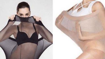 Kobiety XXL są oburzone tą reklamą rajstop, bo choć była skierowana do nich, to pokazywała szczupłe modelki. Oburzenie jest słuszne?