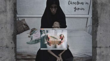 Nie wszystkie dzieci odwiedzi Mikołaj. O niektórych zapomniał cały świat. Jakie święta czekają Jemeńczyków? – najlepiej pokazują to te bilbordy