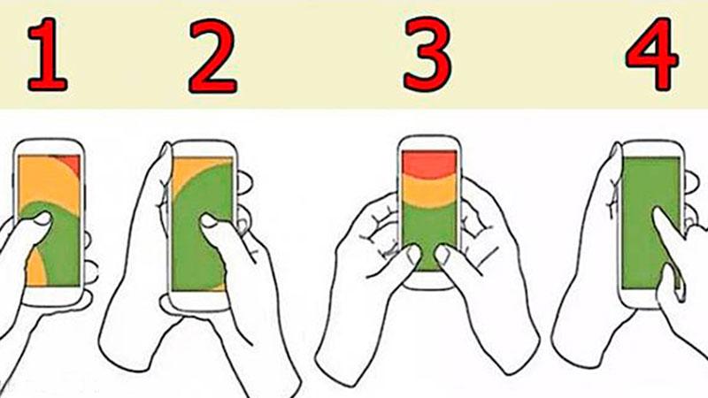 Sposób w jaki trzymamy telefon komórkowy nie jest przypadkowy. Sprawdźcie, co psychologowie potrafią wyczytać z ułożenia dłoni na aparacie