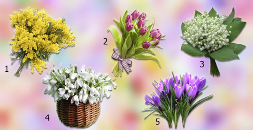Co czeka was na wiosnę? Wybierzcie bukiet i odkryjcie, co nowego przyniesie zmiana pory roku