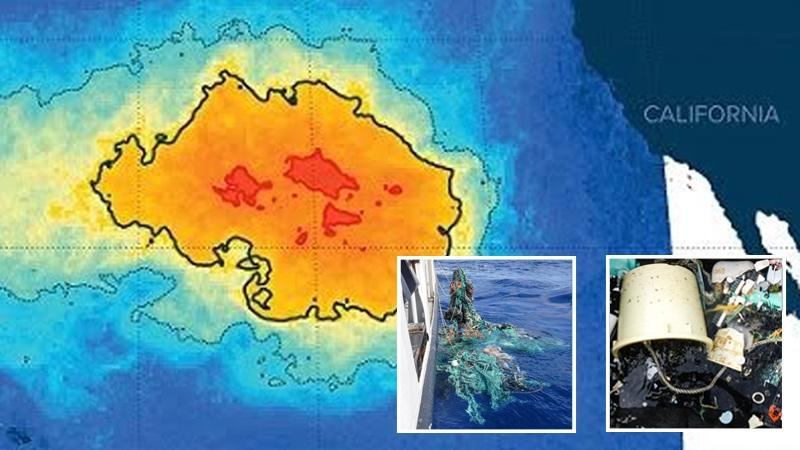 Ludzie stworzyli nową wyspę! Nie ma się jednak z czego cieszyć, to tak naprawdę wielkie dryfujące na oceanie wysypisko śmieci