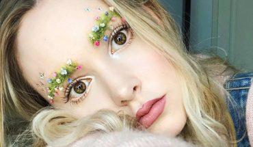 """Masz dość """"zwykłych"""", regularnych brwi? Zamień je w mały, kolorowy ogródek. W ten sposób wiosnę przywitało pół Instagrama!"""