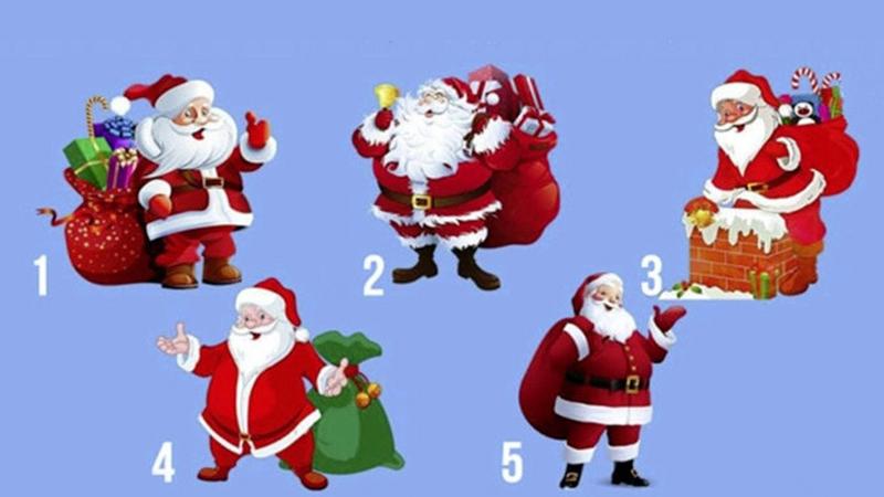 Wybierz Świętego Mikołaja i dowiedz się, co czeka cię w nowym roku