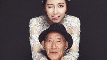 Wnuczka spełnia życzenie umierającego dziadka w najpiękniejszy z możliwych sposobów