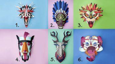 Wybierz maskę i odkryj swą prawdziwą twarz. Ten test ujawni, o czym skrycie marzysz, ale boisz się przyznać
