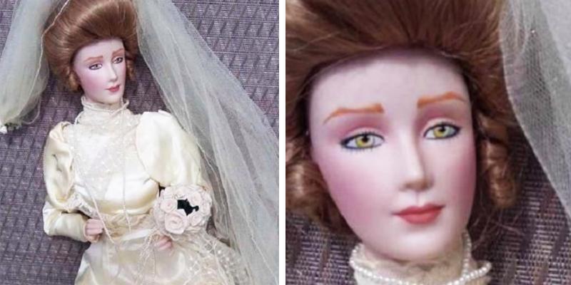 Nie wierzyli, że ta lalka jest nawiedzona, dopóki w programie telewizyjnym nie zrobiła TEGO! Mam ciarki na plecach