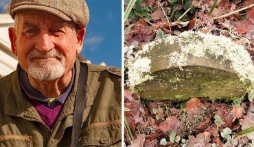 Spacerując po lesie, znalazł 130-letni nagrobek. Gdy go oczyścił, odczytał niecodzienne epitafium