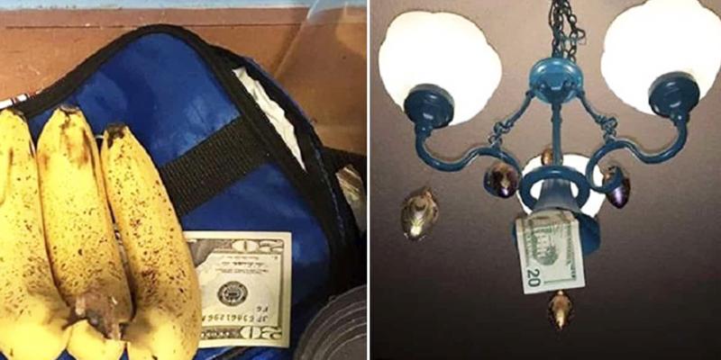 Tata ukrywa pieniądze w domu córki za każdym razem, gdy ją odwiedza. Robi to z jednego prostego powodu!