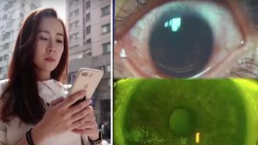 """Smartfon wypalił jej 500 """"dziur"""" w oczach. Wszystko przez jeden szczegół, na który rzadko zwracamy uwagę"""